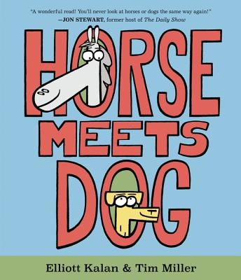 Horse Meets Dog Book Cover
