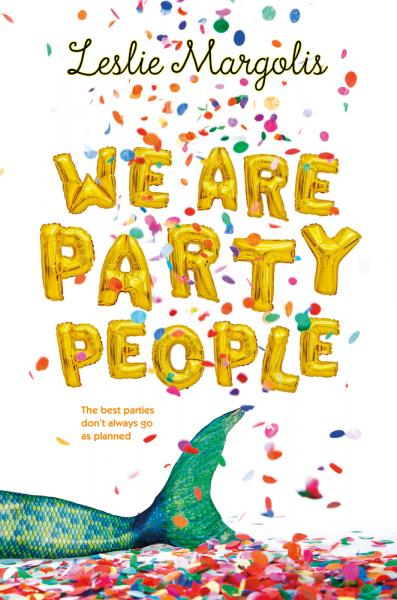 Leslie Margolis signing We Are Party People at Once Upon A Time Bookstore
