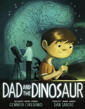 Dad and the Dinosaur Cover