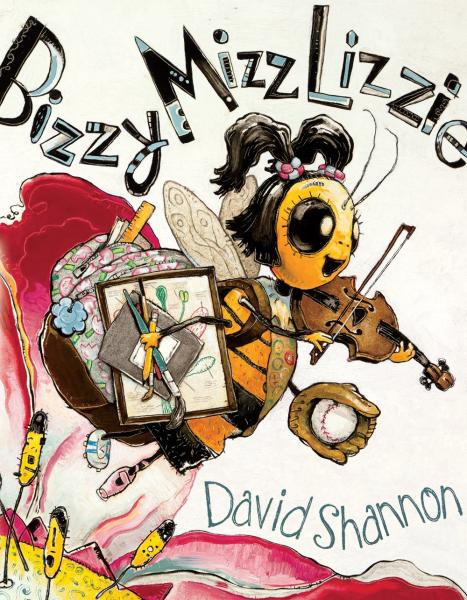 Bizzy Mizz Lizzie book signing by David Shannon at Once Upon A Time Bookstore