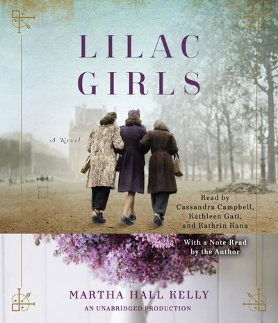 Lilac Girls audiobook cover and link to Libro.fm
