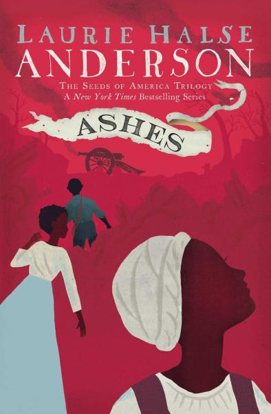 Ashes by Laurie Halse Anderson signing at Once Upon A Time Bookstore