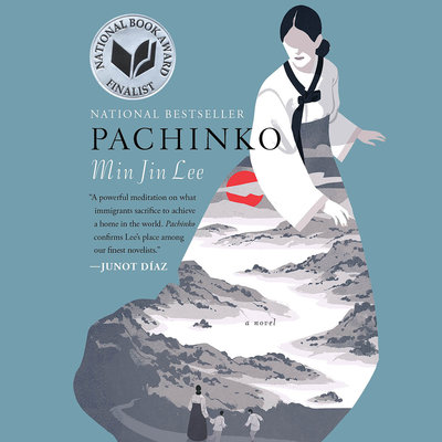 Pachinko audiobook cover and link to Libro.fm