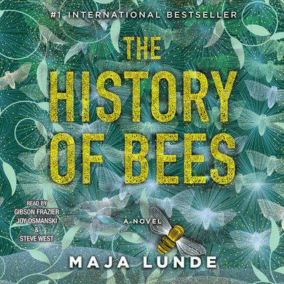 The History of Bees audiobook cover and link to Libro.fm