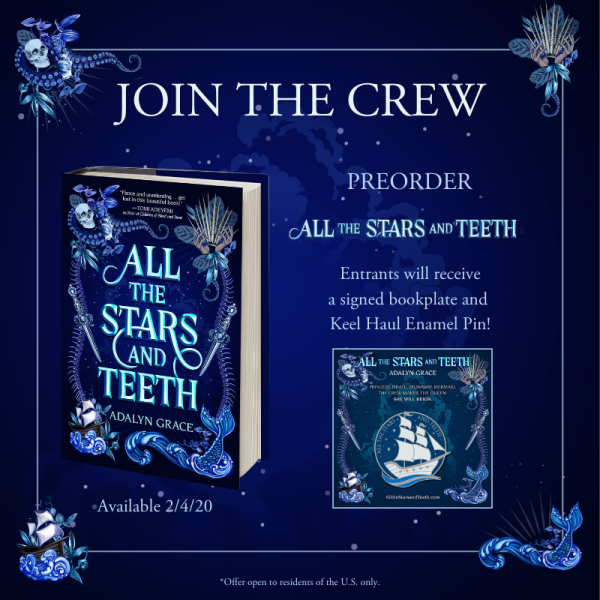 All the Stars and Teeth Pre-order giveaway