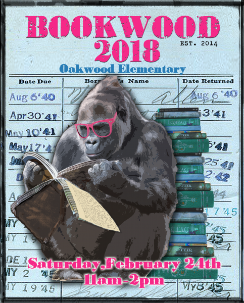 Bookwood 2018 at Once Upon A Time Bookstore