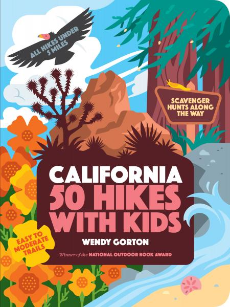 50 Hikes with Kids California book cover