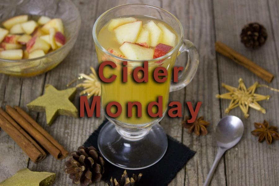 Cider Monday Sale at Once Upon A Time Bookstore