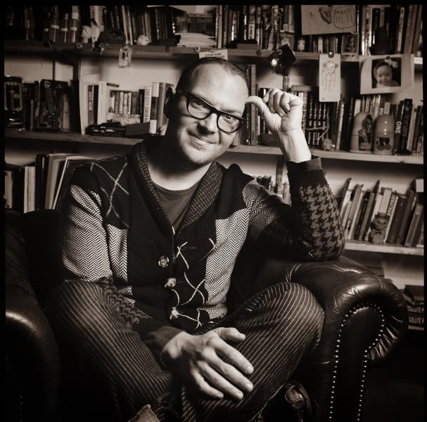 Cory Doctorow at Once Upon A Time Bookstore