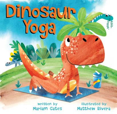 Dinosaur Yoga book cover
