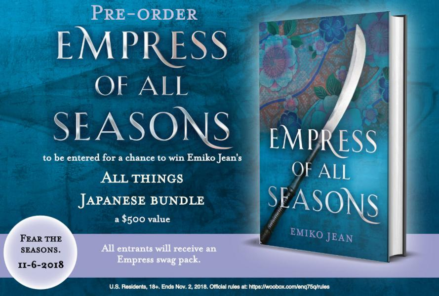 Pre-order Empress of All Seasons by Emiko Jean