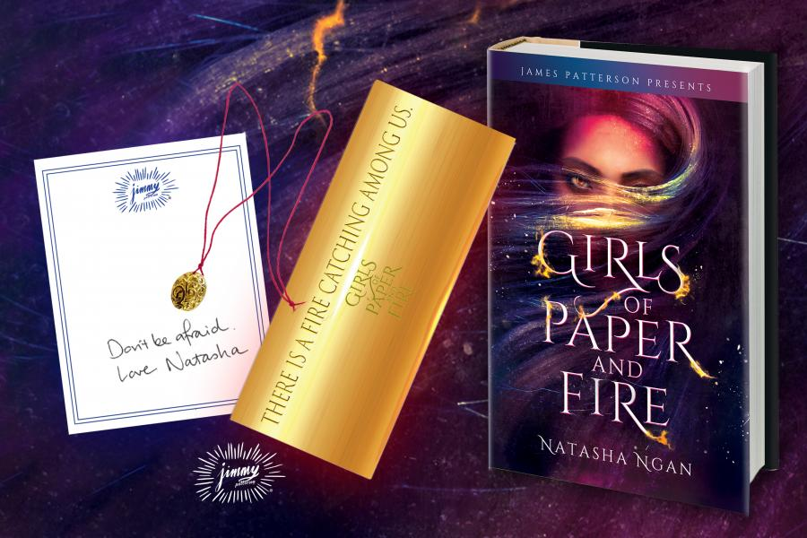 Girls of Paper and Fire Preorder Swag