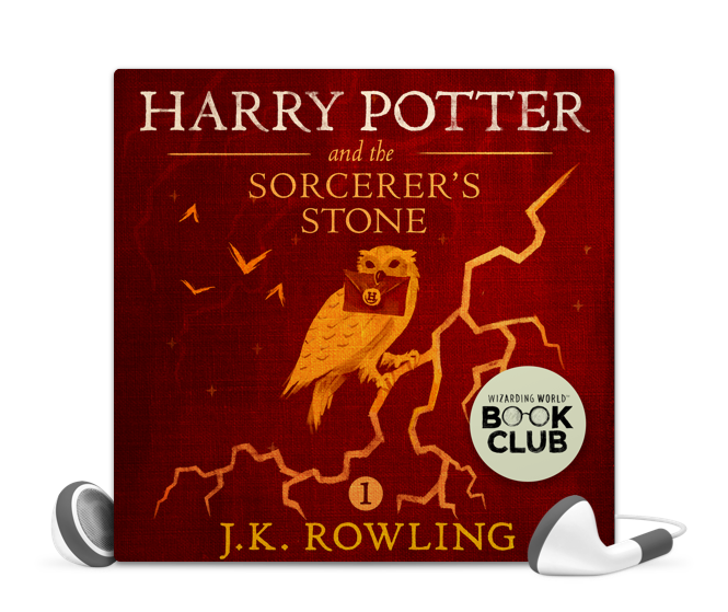 Harry Potter and the Sorcerer's Stone written by J. K. Rowling, read by Jim Dale, audiobook from Libro.fm