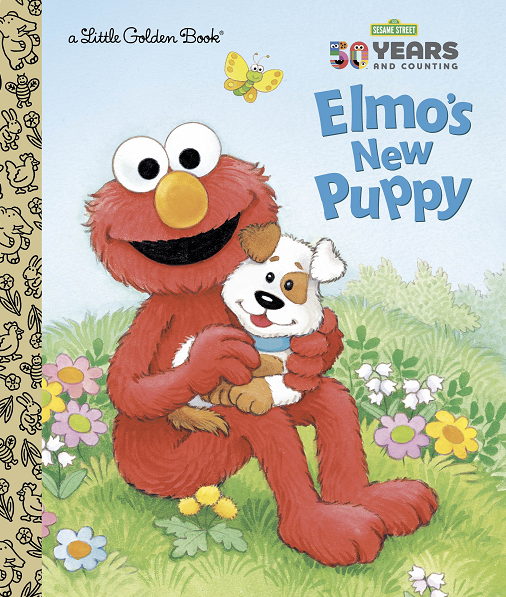 Independent Bookstore Day 2019 Exclusive Items Little Golden Book Elmo's New Puppy