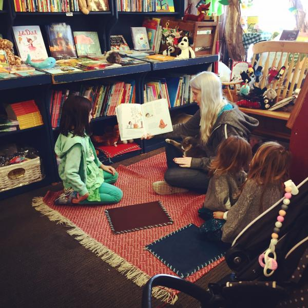 Spectacular Storytime with Isabel Every Thursday at 11 am at Once Upon A Time Bookstore