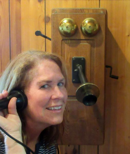 Mary Ann Fraser author of Alexander Graham Bell Answers the Call