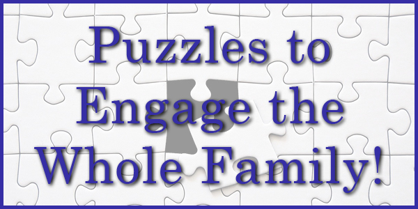 Puzzles to engage the whole family