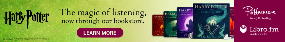 Harry Potter Audiobooks through Libro.fm
