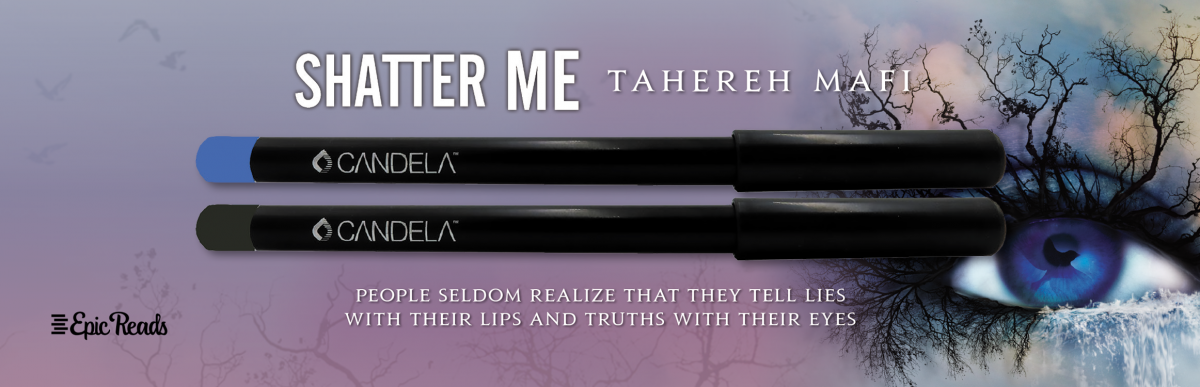 Shatter Me Pre-order give away eyeliner pencil set