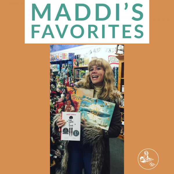 Maddi's Favorite Staff Picks from Once Upon A Time Bookstore