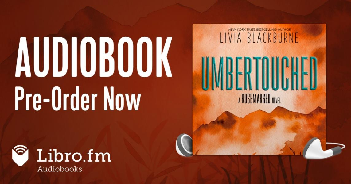Audiobook pre-order for Umbertouched by Livia Blackburne through Libro.fm