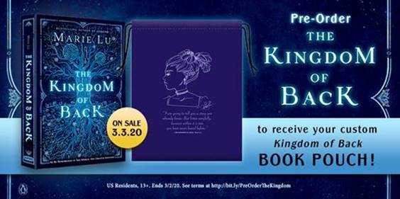 Kingdom of Back by Marie Lu Pre-order gift