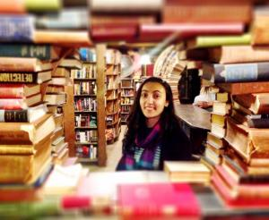 Linnea | Staff Member at Once Upon A Time Bookstore