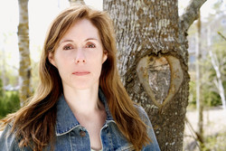 Laurie Halse Anderson Author Photo Mad Woman in the Forest
