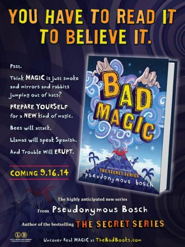 pseudonymous bosch real name. pseudonymous bosch\u0027s bad magic launch party - september 16th at 7 pm bosch real name o